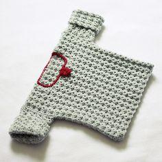 Crochet PATTERN (pdf file) - The Rose Baby Sweater. $3.99, via Etsy.