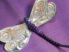 Tutorial ~Punched tin Dragonfly by gingerbread_snowflakes