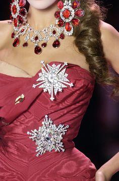 <3<3 christians, baroque, dior coutur, diamonds, christian dior, necklac, gardens, earrings, haute couture