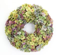 Wreaths For Door - Cape Mix Hydrangea Wreath, $84.99 (http://www.wreathsfordoor.com/cape-mix-hydrangea-wreath/)