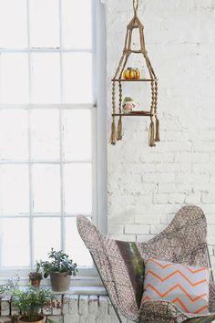 Hanging Shelf #urbanoutfitters