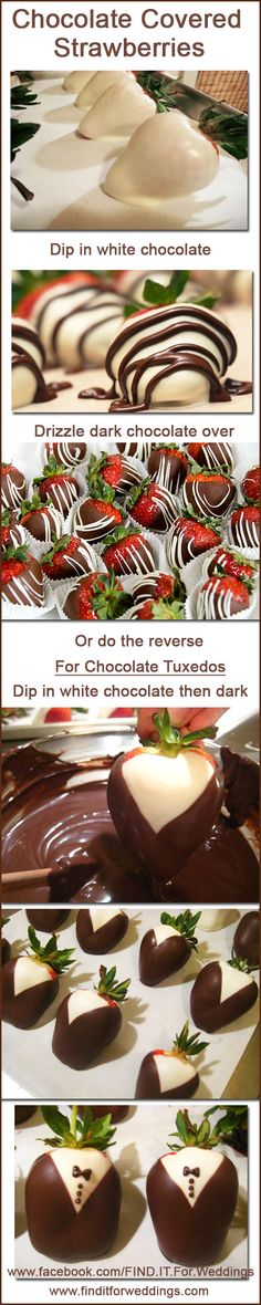 Chocolate covered strawberries great for your #wedding