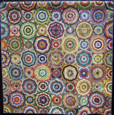 Millefiori by Chris Kenna, New Zealand @ 2012 Pacific International Quilt Festival.