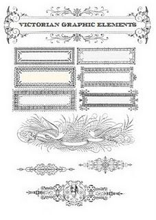 Victorian Graphic Elements