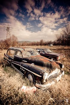 Forgotten Old Cars