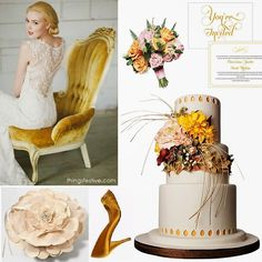 Spring Wedding Color Palette Inspiration: Misted Yellow Meets Blush #wedding #color #inspiration #mistedyellow