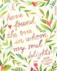 Soul Delights vertical print