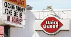 Alton Dairy Queen closing The sole Alton location of the ice cream vendor will close its doors for the last time Sunday - The Telegraph - thetelegraph.com