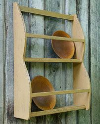 DIY Old Primitive Bowl Rack Pattern. http://www.patternmart.com/pattern/8367/Old+Primitive+Bowl+Rack+Pattern+120PM