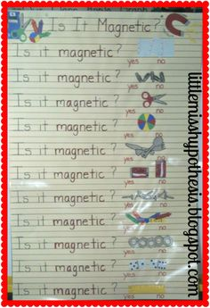 Magnet chart Mania!