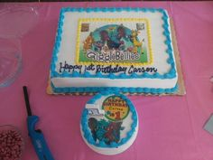 Shelby Lee Holmes shared this wonderful birthday cake that was made for her grandson Carson's first birthday!! #GBbirthday
