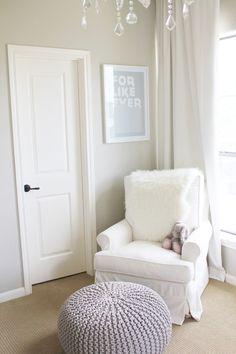 closet doors, futur, nurseries, wall color, nurseri week, foot stools, decor ideal, nurseri idea, glam nurseri
