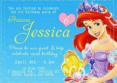 parti invit, disney princesses, princess parti, disney princess party