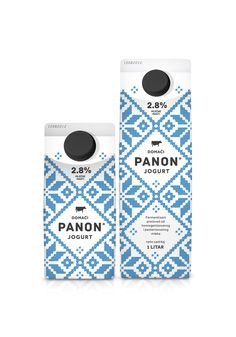 PANON Dairy - The Dieline -