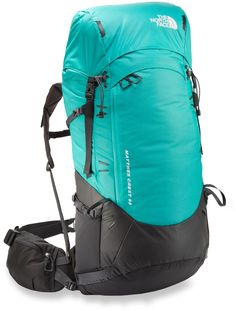 The North Face Matthes Crest 68 pack for women sports a durable and full-featured design that lets high-climbing peak-baggers push for the top in comfort.