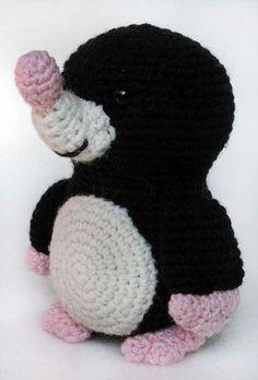 Cute Amigurumi Crochet Mole /Molletje - Free Pattern/ Gratis Patroon