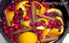 Christmas-y Simmering Stove Top Potpourri via One Good Thing by Jillee
