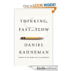 Source: Amazon  Reading it on: Kindle  I've read a lot of Kahneman before; this has less new (so far) than I had hoped, but it's still interesting.