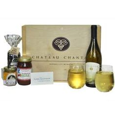 Pure Michigan From the Vineyard Gift Box (featuring wines from Chateau Chantal).