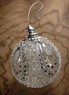 Ornaments - clear beading