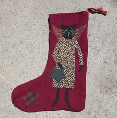 Stocking / Pattern by Jan Patek/Sue Spargo from Miyuki