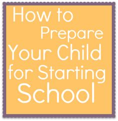 Serenity You: How to Prepare your Child for Starting School #PaperMateBTS
