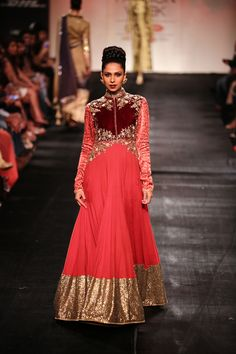 Anarkali by Vikram Phadnis at Lakme Fashion Week 2014