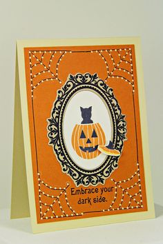 Embrace Your Dark Side Card by Erin Lincoln for Papertrey Ink (August 2014)