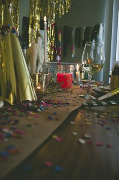 New Years party decor // folklifestyle.com