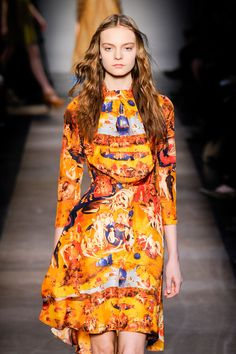 Hieronymus Bosch Garden of Earthly Delights print dress - Carven Fall 2012, March 4th