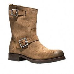 FRYE FOR COACH ROGAN ENGINEER BOOT
