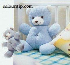 Solountip.com: Osito de peluche para bebes teddybear pattern