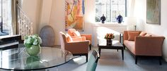 Gorgeous deluxe suites at One Aldwych Hotel, London