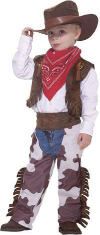 Cowboy Kids Costume - Cowboy Costumes
