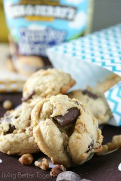 Chunky Monkey Pudding Cookies - Living Better Together monkey pud, pud cooki, chunki monkey, monkey cooki