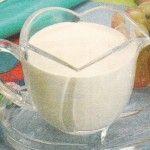 Creme de leite fresco caseiro