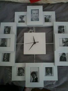 Doctor Who Art Clock- this is happening.