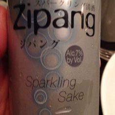 Zipang Sparkling Sake