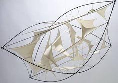Jens J. Meyer's Luftkissen Fabric Sculpture
