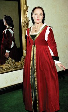 Silvermane - Roman to Renaissance - Clothing: Women's Garb: Dresses, Gowns, Skirt : Abita di Firenze Ensemble
