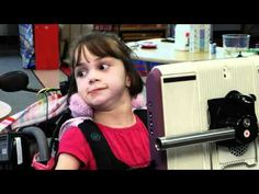 This video tells the story of a 10-year-old girl with cerebral palsy who uses an eye-controlled camera to help her communicate in this profile from the Cincinnati Children's Hospital Medical Center.