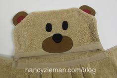 Nancy Zieman/Sew a Kids Towel Wrap