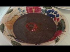 How to make Sauce Pois (black bean sauce) - Haitian recipe