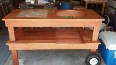 New EGG and all Cherry table. - Big Green Egg - EGGhead Forum - The Ultimate Cooking Experience...