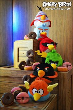 Angry Birds Space Plush!