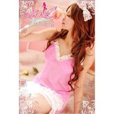 Succubus Sleepwear Woman Pink Lingerie Teddy Sexy Babydoll Nighties Cute Nightwear One Size --- http://www.amazon.com/Succubus-Sleepwear-Lingerie-Babydoll-Nightwear/dp/B007M4IWTS/?tag=zaheerbabarco-20