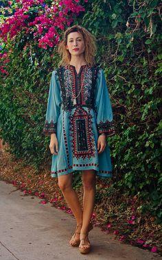 My Baby Blue Afghani Gypsy Dress by TavinShop on Etsy