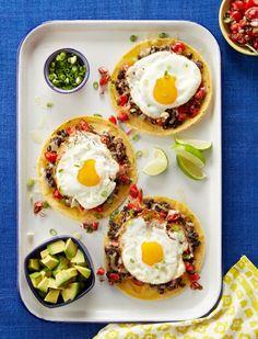 Huevos Rancheros recipe - quick and easy breakfast for dinner!