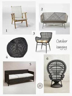 greige: interior design ideas and inspiration for the transitional home : Currently: Outdoor lounging