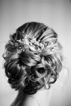 hair-do for the bride